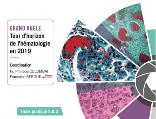 Force Hémato : point sur les différentes pathologies en hématologie